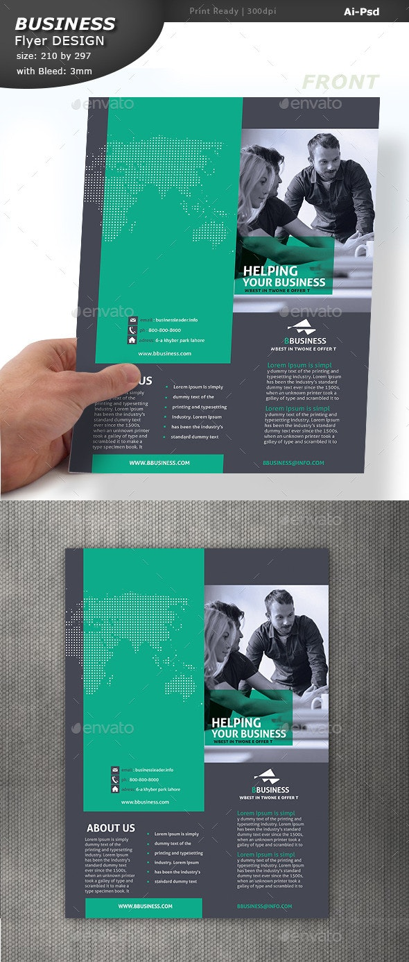 Corporate Pamphlet Design - Corporate Flyers