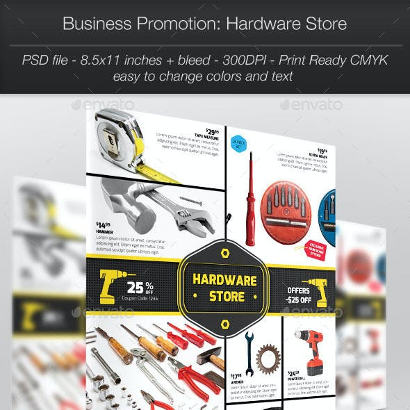 Business Promotion: Hardware Store