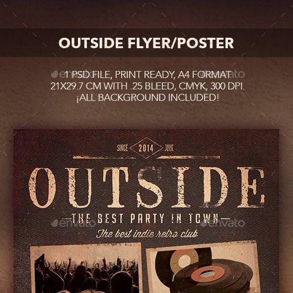 Outside Flyer/Poster