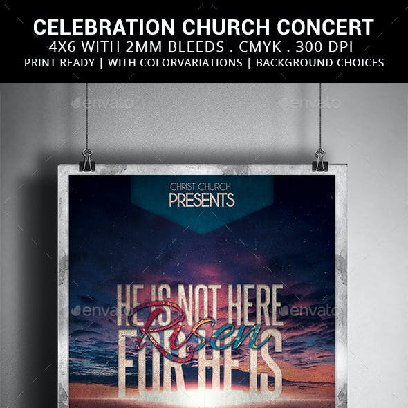 Risen: Celebration Church Concert