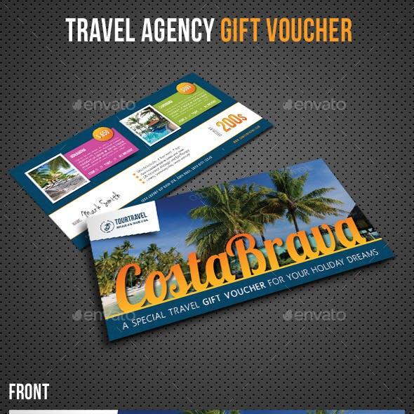 Travel Agency Gift Voucher V02