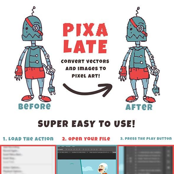 Pixelate Action