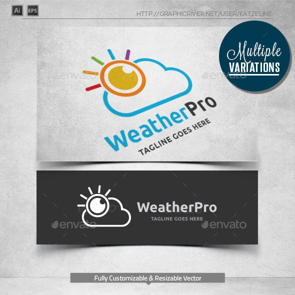 Weather - Logo Template