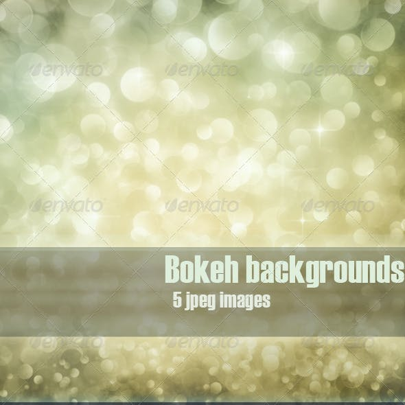 Festive bokeh backgrounds vol.3