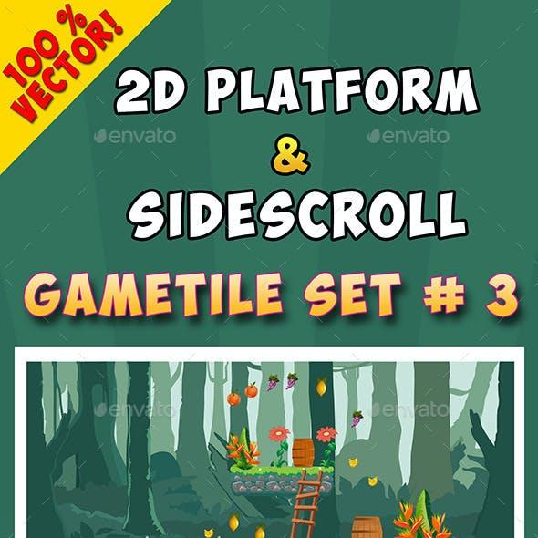 2D Platform & Sidescroll Tileset #3
