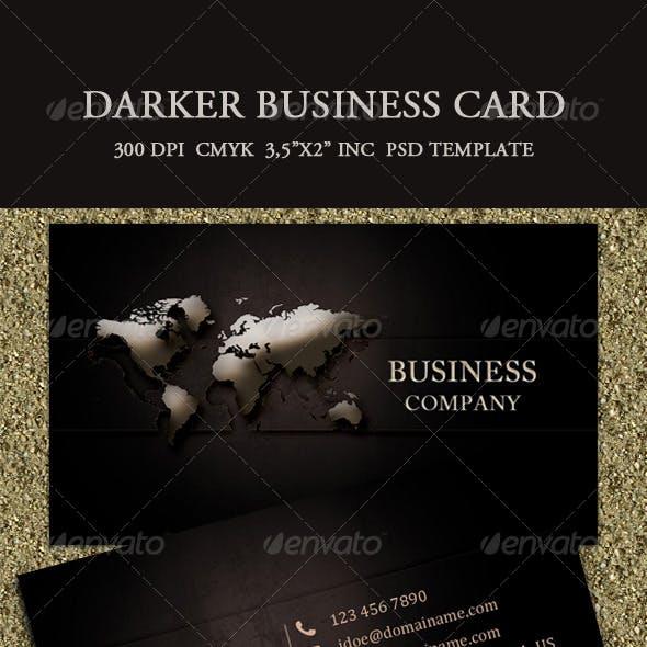 Darker Business Card