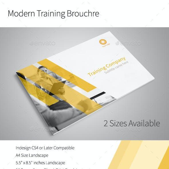 Modern Training Brochure