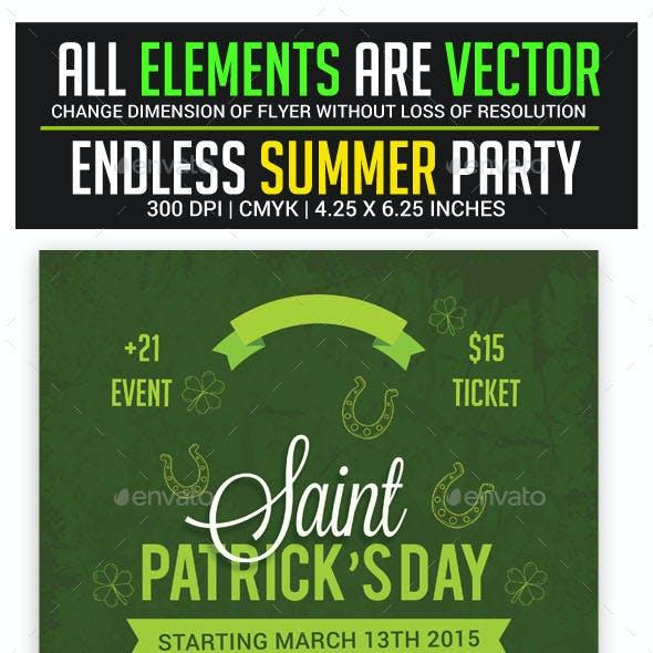 St.Patrick's Day Flyer
