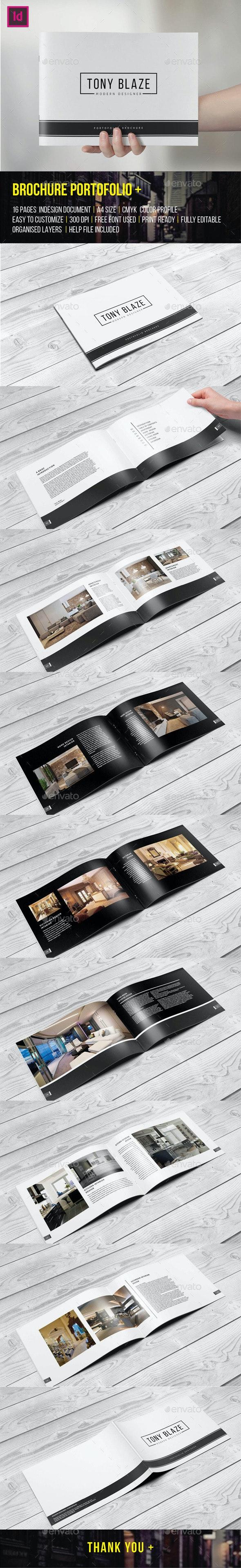 Brochure Portfolio 16 Pages - Portfolio Brochures