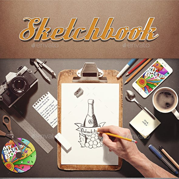 Sketchbook / Stationery Scene Creator