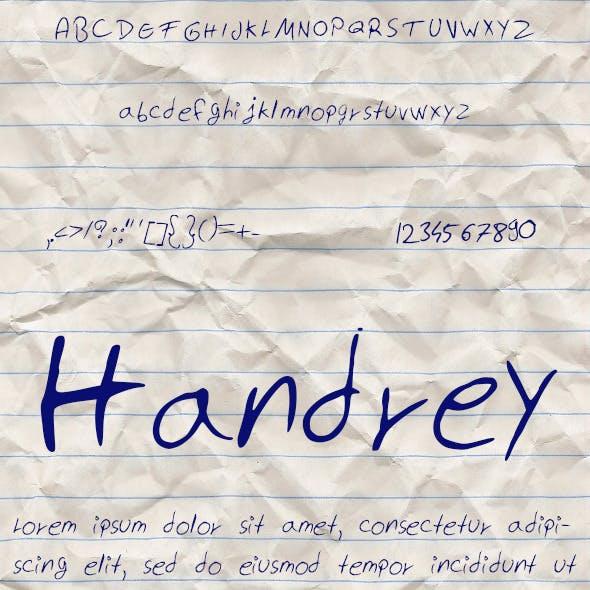 Handrey Font