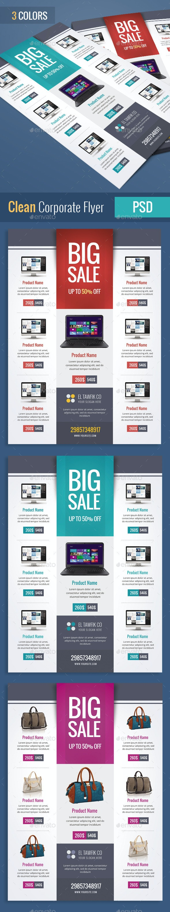 Products Sale Flyers - Corporate Flyers