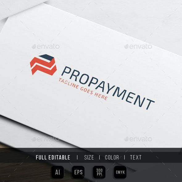 Pro Payment - Letter P