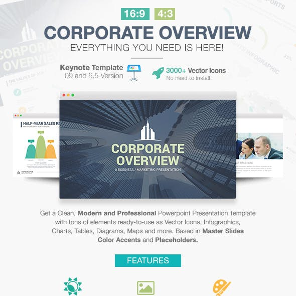 Corporate Overview Keynote Template