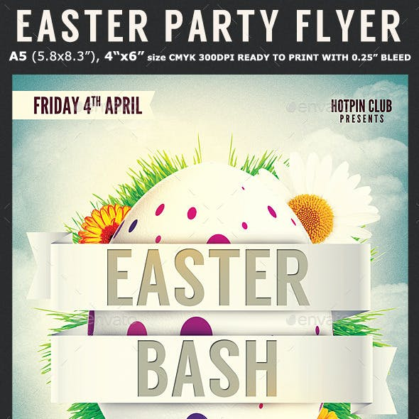 Easter Bash Flyer Template