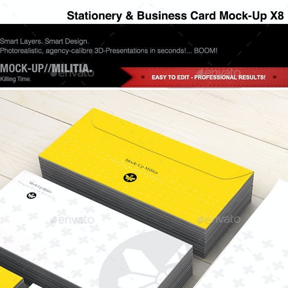 Stationery | Business Card | Visual ID | Mock-Up