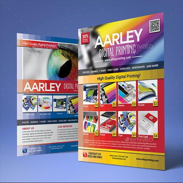 Digital Printing Flyer