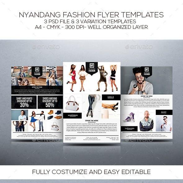Nyandang Fashion Flyer Template
