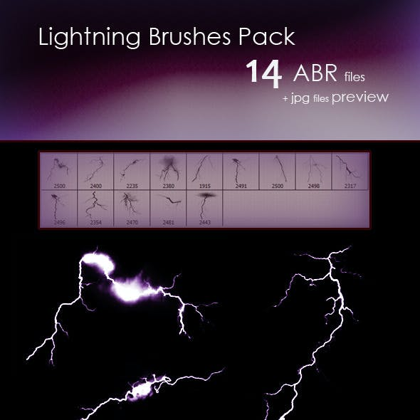 14 Lightning Brushes
