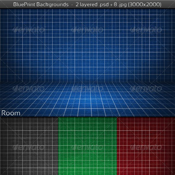 BluePrint Backgrounds