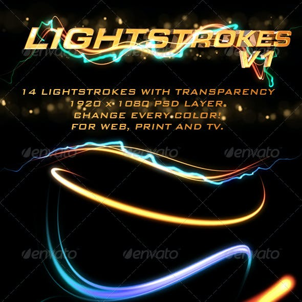 Light Strokes V1 (Light Trails)