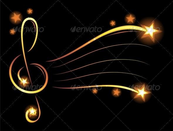 Music wallpaper - Decorative Symbols Decorative