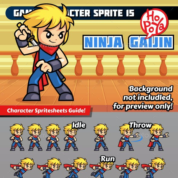 Game Character Sprite 15