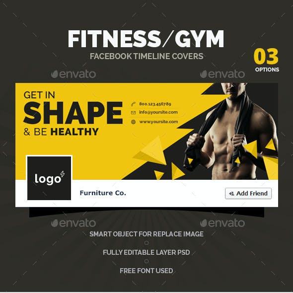 Fitness / Gym  Facebook Timeline Covers