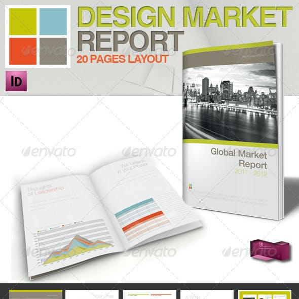 Professional Magazine Template // A4 // 4 Colors