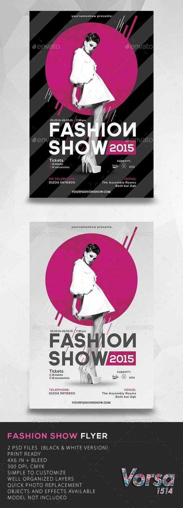 Fashion Show Flyer - Miscellaneous Events