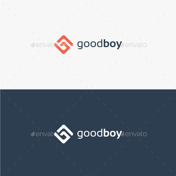 Good Boy Letter G - Logo Template