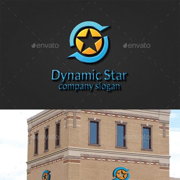 Dynamic Star Logo