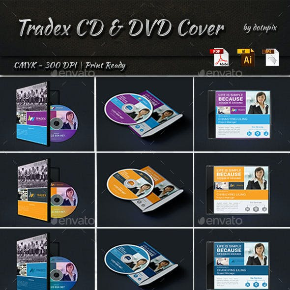 Tradex Business CD And DVD Cover