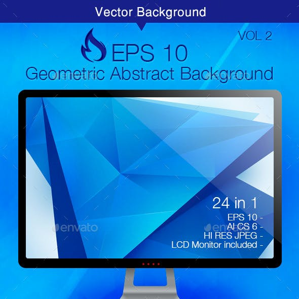 Geometric Abstract Background - Vol 2