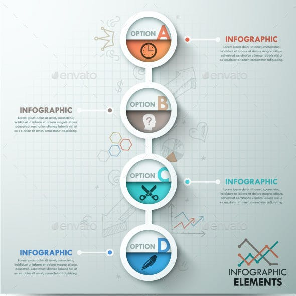 Modern Infographic Template (2 Items)