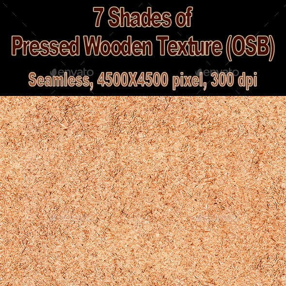 Pressed Wooden Chips Texture (OSB) Tileable.