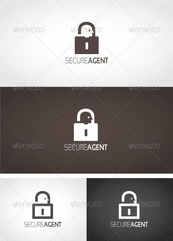 Secure Agent Logo - Objects Logo Templates