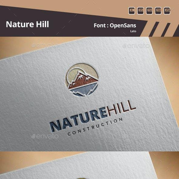 Nature Hill Logo Template