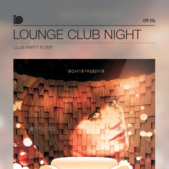 Club Party Flyer • Lounge Club Night