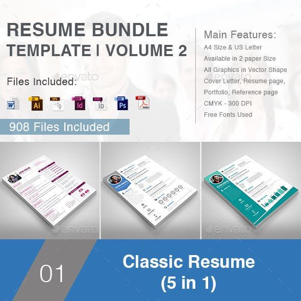 Resume Bundle Template | Volume 2