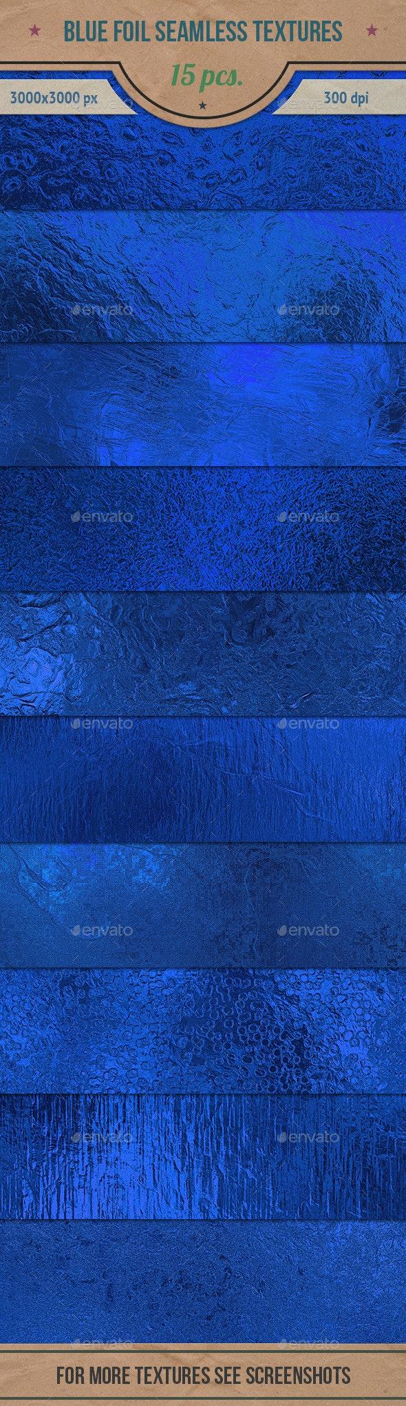 Blue Foil Seamless HD Textures Pack - Textures