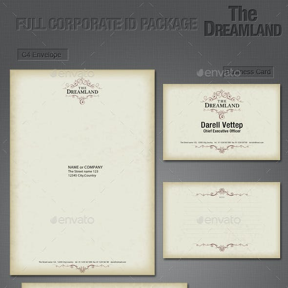 Full Corporate ID Package - Dreamland