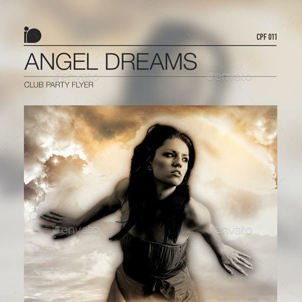 Club Party Flyer • Angel Dreams