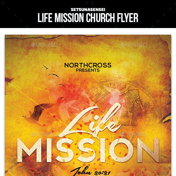 Life Mission Church Flyer