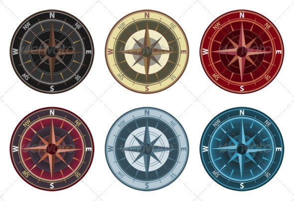Compass  - Objects Illustrations