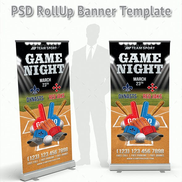 Big Game Night Rollup Banner 39