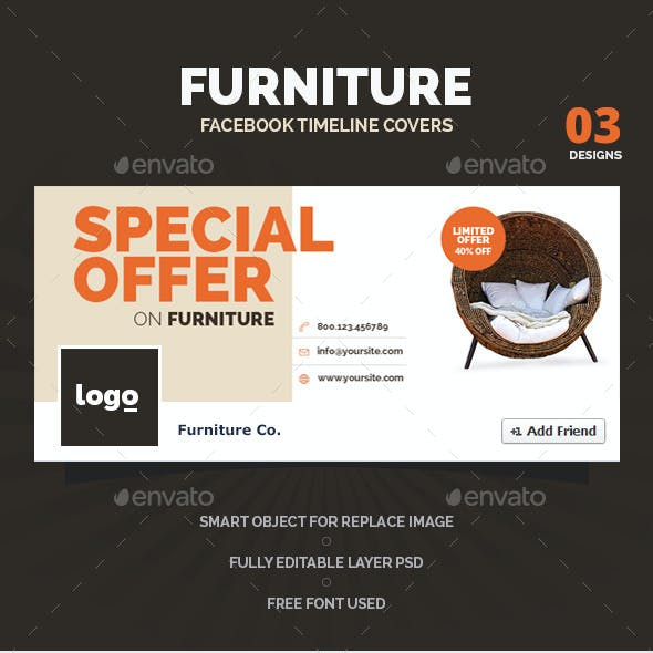 Furniture Facebook Timeline Covers