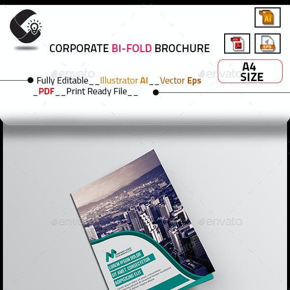 Modern Creative Bi-fold Brochure
