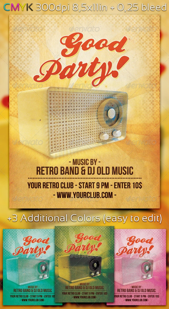 Good Party Flyer - Clubs & Parties Events