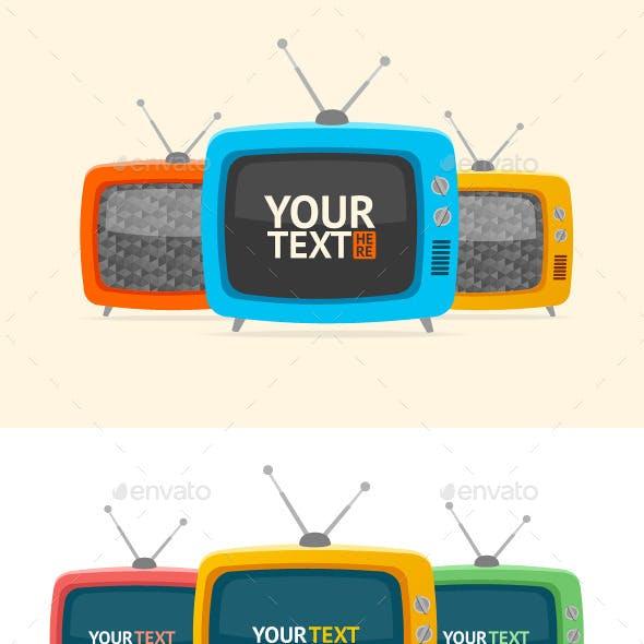Retro TV Banner